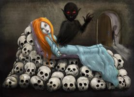 The possessed sleeping beauty by Lauramei