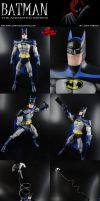 Batman (Animated Series Style) Custom Figure by MintConditionStudios