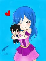 Gruvia by reicel-chan