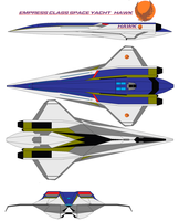 Empress Class Space Yacht   HAWK by bagera3005