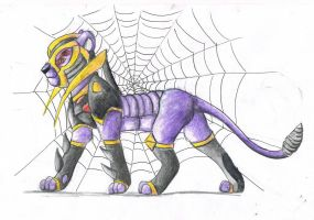 Blackarachnia by deladia