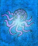 Purple Octopus with Stained Glass Filter by ArielKamikaze