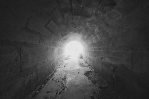 The light at the tunnel's end. by dewhacker