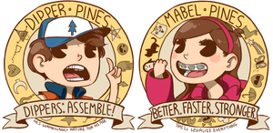 Mystery Twins by Jesscookie