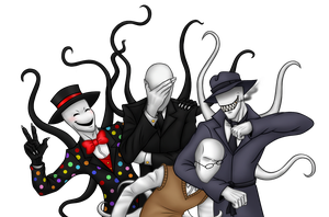 Slender bros by Gothicraft