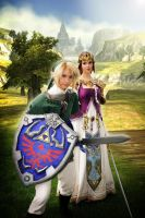 Zelda Cosplay: Protection by Yesta-sensei