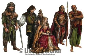 DragonLance: Civilized Humans by LinzArcher