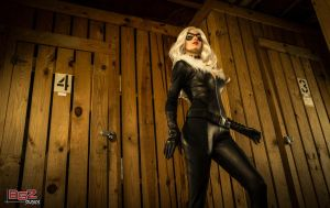 Black Cat Cosplay - Breaking in 2 by bgzstudios