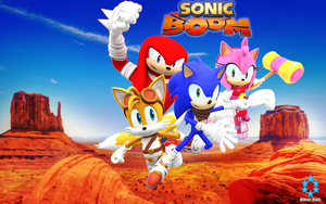 Sonic Boom Wallpaper by Nibroc by NIBROCrock
