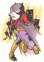 Batgirl by KidNotorious