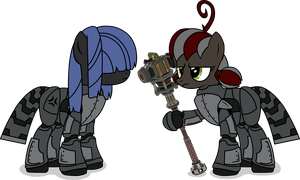 Mares OF Steel by Kitana762