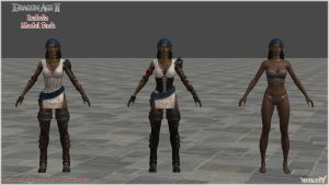 Dragon Age II: Isabela Model Pack by Berserker79