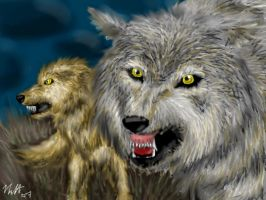 Wolf Pack by neecolette