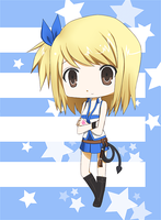 Lucy Chibi by choux-cream