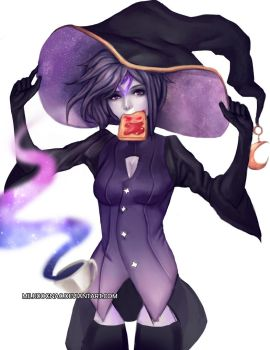 Gaia Online: Stellar Witch Teatime by MilkCognac