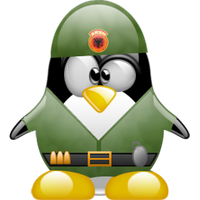 Soldier Tux - AKSH by artti-ad