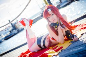 TTGL -  Sunshine Yoko by Shiroiaisu