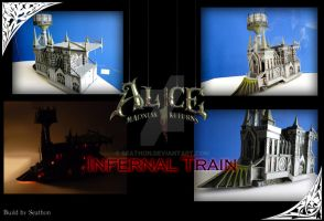 Alice Madness Return's: Infernal Train Replica by Seathon