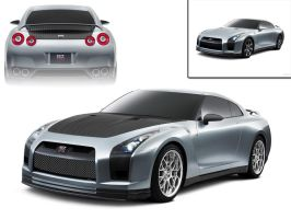 Nissan GTR Stage 2 Modified by ddvs1