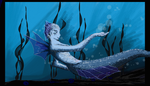 Mermaid test by ellencore