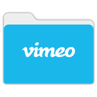 Vimeo Flat Yosemite Folder by janosch500