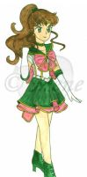 Seramyu Sailor Jupiter by mene