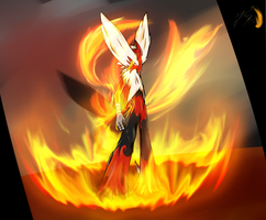 The Blazing Hawk: Evolution by Ultimatechaosblast