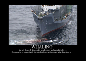 Dishonorable Whaling Crime by Winter-Phantom