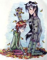 you,me,and the autumn by UkeHicForEva