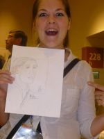 Hold Drawing Jenna from VT by Poorartman