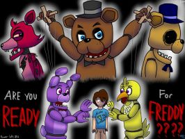 Five Nights at Freddy's by TrinityTheWerewolf33