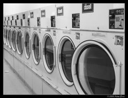 Laundromat by adras