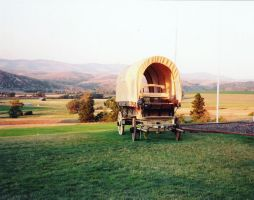 Old Montana Carriage by jrbamberg