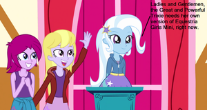 Trixie's First Investiture Speech by TheMexicanPunisher