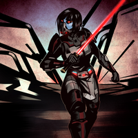 Comm: Sith Warrior by Vaahlkult