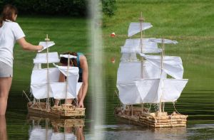 Model Boat by gallopingcowgirl