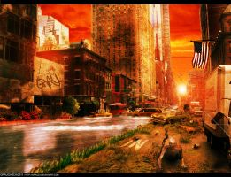 Apocalyptic City by Grau23