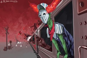 The Train Conductor. by kuoke
