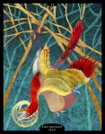 The Dinosaur Tarot -12- The Hanged Man by Droemar