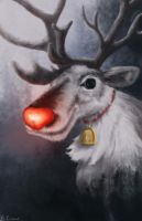 Rudolph by ChristopherCrow