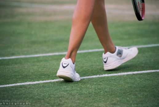 Passion of Tennis by Sanhoury