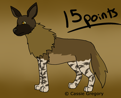 Brown Hyena Adopt by The-Smile-Giver
