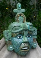 Mayan Death Mask by TimBakerFX