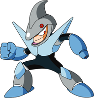 Megaman 3 PC - Sharkman by Tsuki-no-michi