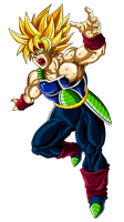 Bardock SSJ by OriginalSuperSaiyan