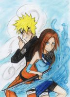 :Naruto.U and Mizu.M:: by Stray-Ink92