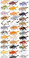 47 adoptables closed by Esprit-Arait