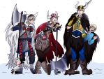 Hetalia Nordics - Vikings by HolderofTruth