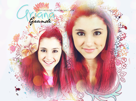 Ariana Grande Graphic by softmist93