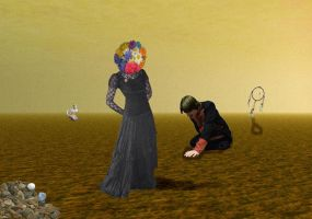 Dali in the Desert by joel-lawless-ormsby